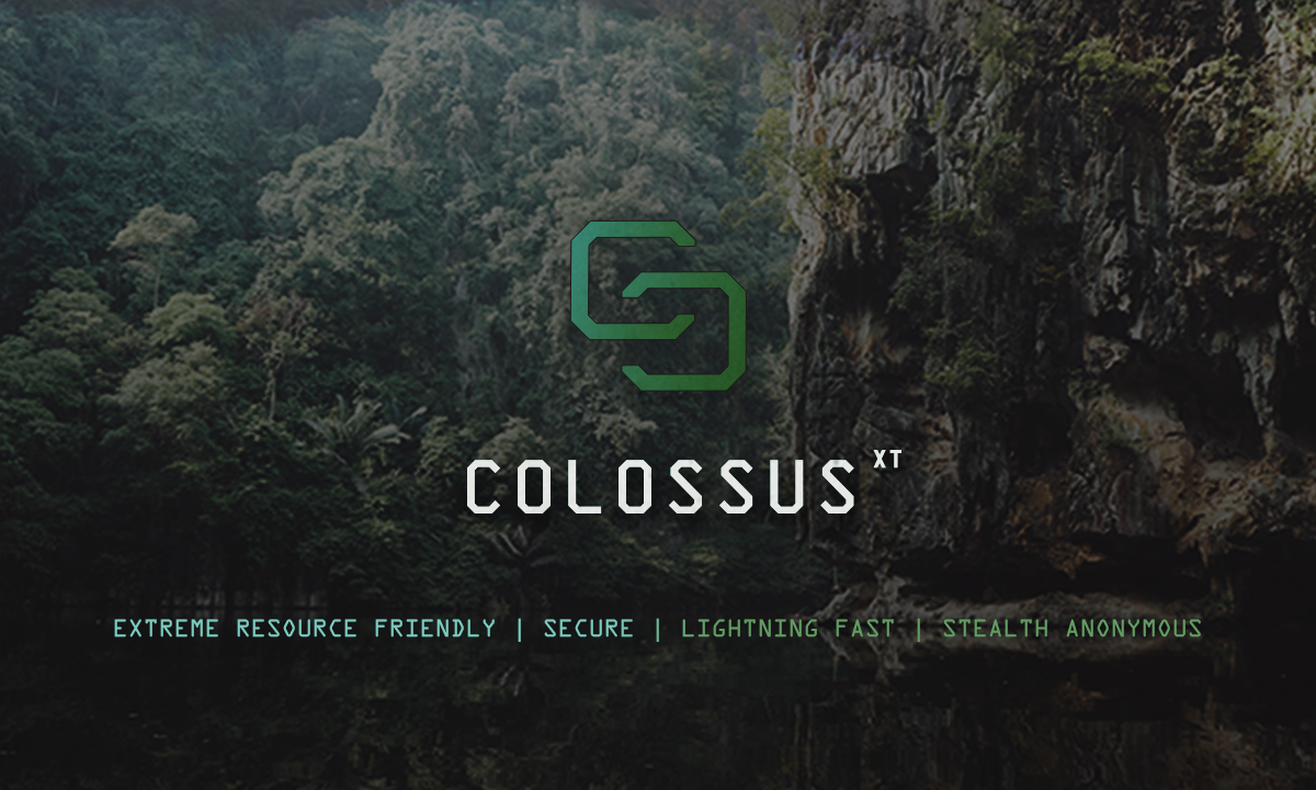 ColossusXT Cryptocurrency | Privacy Coin | Instant Transactions | Grid Computing